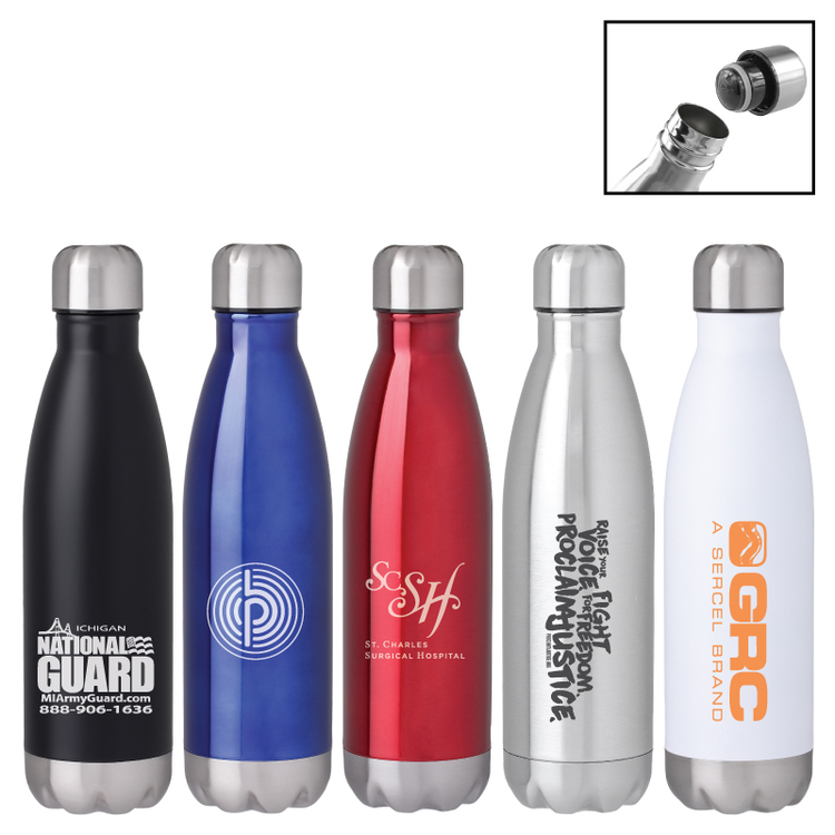 Spectrum Vacuum Cola Water Bottle Tumbler