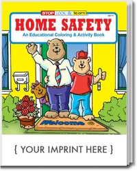 COLORING BOOK - Home Safety Coloring & Activity Book - Coloring Book