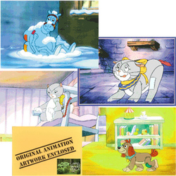 Raggedy Ann & Andy Animation Cels