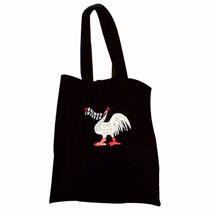Long Handle 100% Cotton Eco Friendly Tote Bag