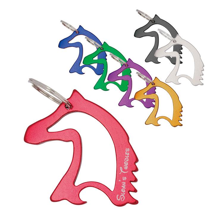 Horse Head Bottle Opener w/ key chain