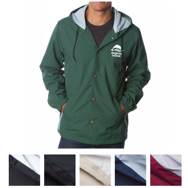 Independent Trading Company Water Resistant Hooded
