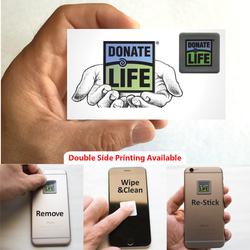 Pluswipe Microfiber Sticky Screen Cleaner Sticker