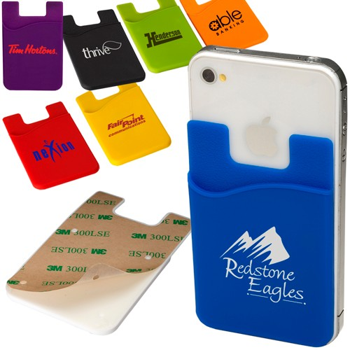 Econo Silicone Mobile Device Pocket - Imprint up to 2 colors