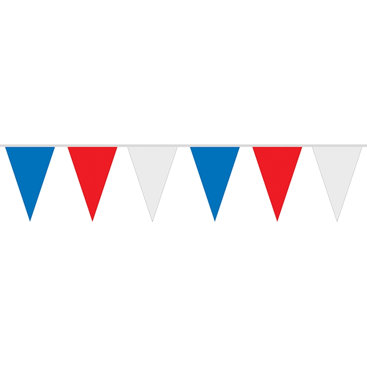Red White And Blue Auto Sales >> 60 Red White Blue 8 Mil Polyethylene Pennant Strings