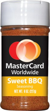 Sweet BBQ Dry Rub (half pint plastic bottle)