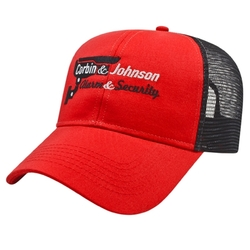 Two-Tone Mesh Back Cap