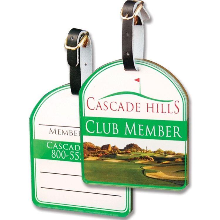 Custom Acrylic Bag Tag (6 Square Inch)