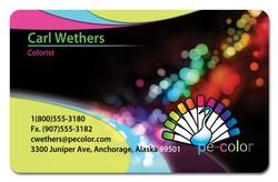 3 3/8 x 2 1/8 (CR80) Plastic Cards (Custom PVC)