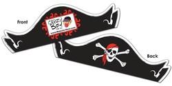 Paper Pirate Hat - Assemble Product - 14 pt.