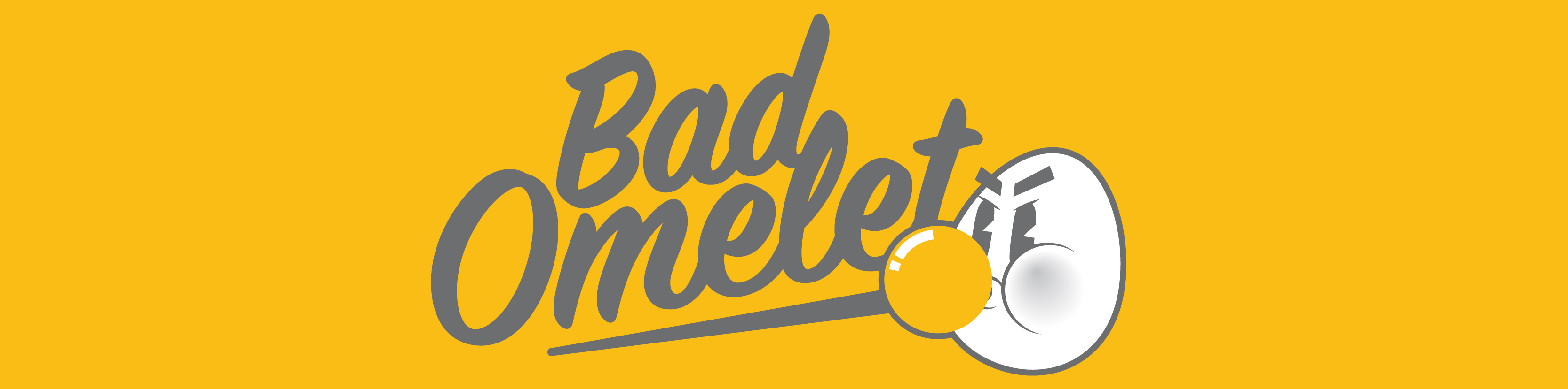 Bad Omelet Screen Printing header