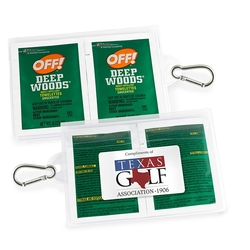 GoPac with OFF!® Deep Woods® Insect Repellent, with Carabiner