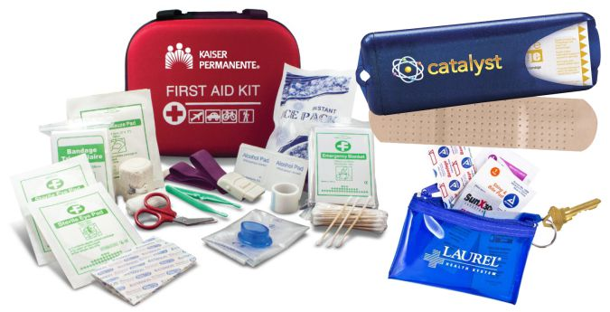 First Aid Kits Custom Logo Printed