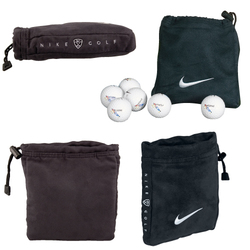 Nike Golf Valuables Bag With 6 Nike Golf Balls - Golf Accessories
