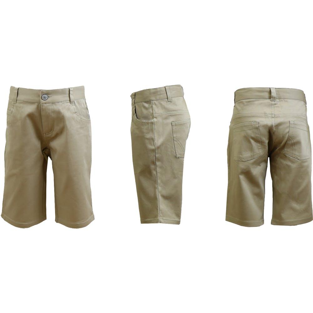 c330483c0ec5c Juniors Khaki Bermuda Shorts - Size 3/4 #2272057 Authentic Galaxy
