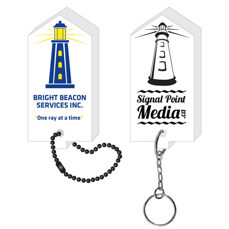 Lighthouse Key Tag