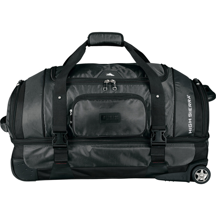 High Sierra 30 Executive Sport Wheeled Duffel with Drop Bottom