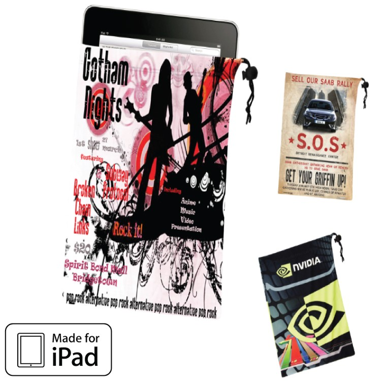 Microfiber Pouch - iPad / Tablet Pouch