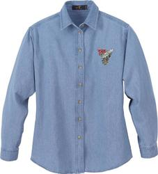 Women's Denim Shirt - Denim Shirt