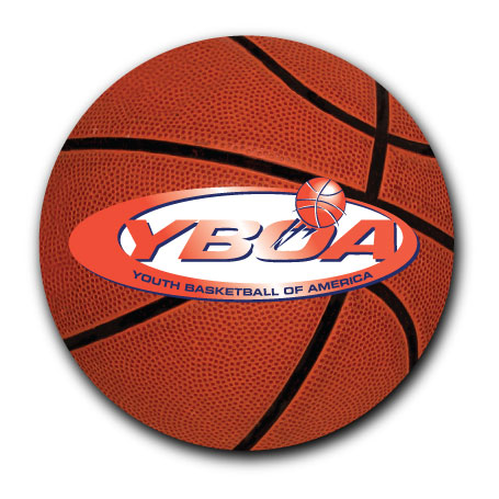 3 Round Basketball Car Magnet