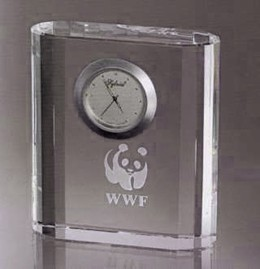 Tippendary Clock. Optic Crystal