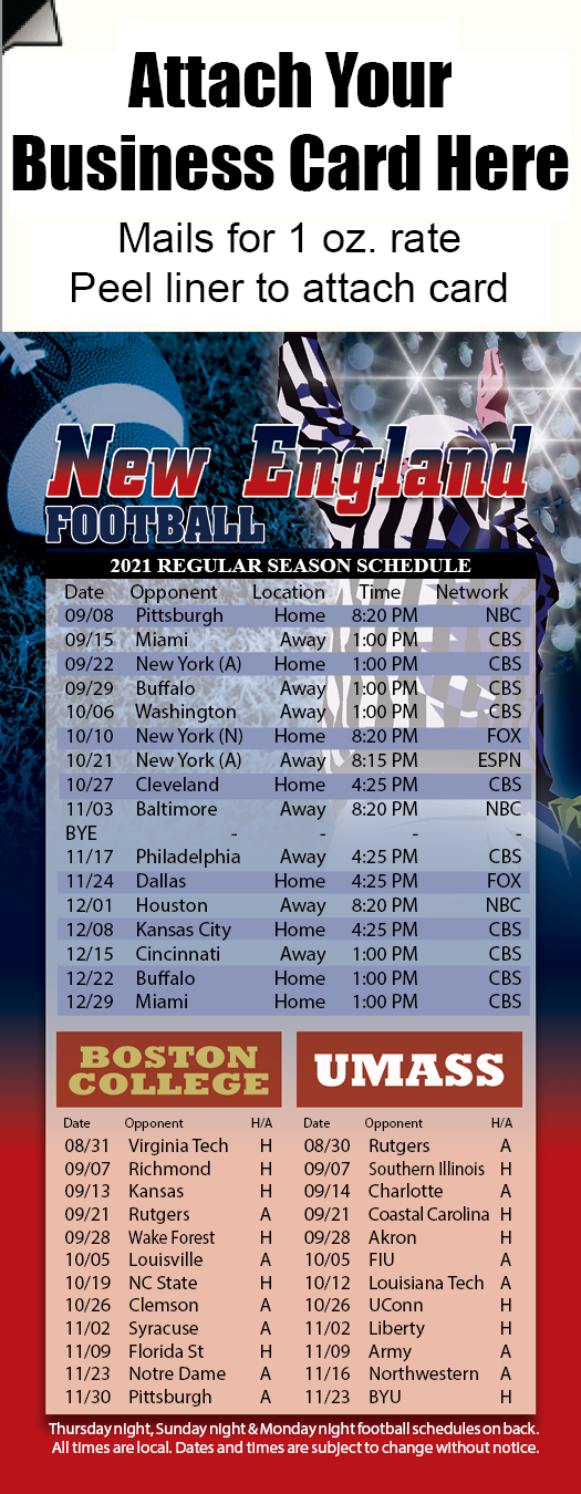 Professional Football-New England
