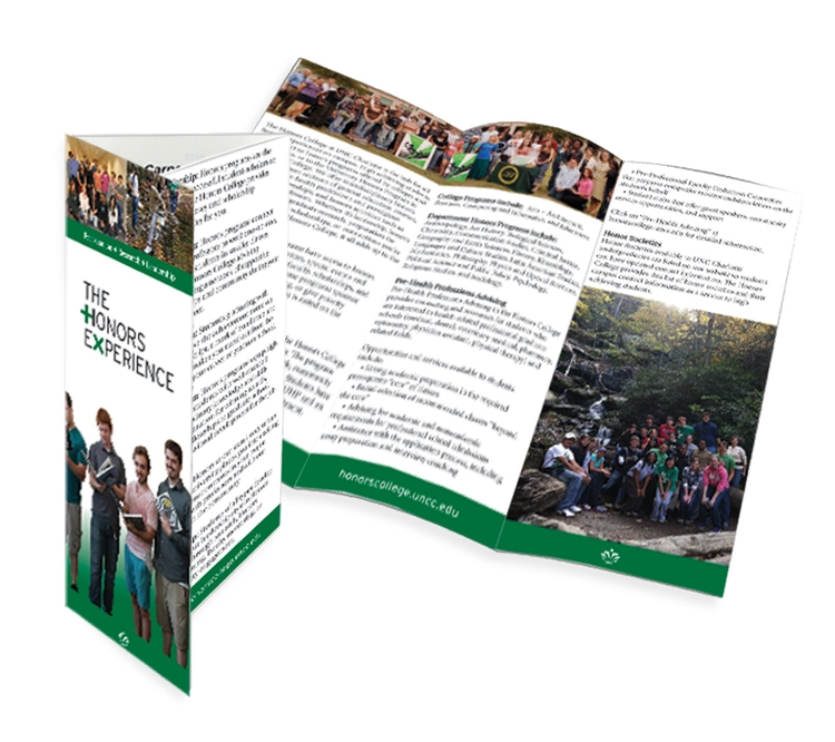 Tri-Fold Brochure 8.5 x 11 folded to 3.6875 x 8.5