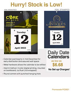 Daily Date Sales Flyer