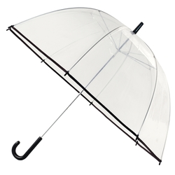 The 47 Clear Bubble Umbrella with Hook Handle