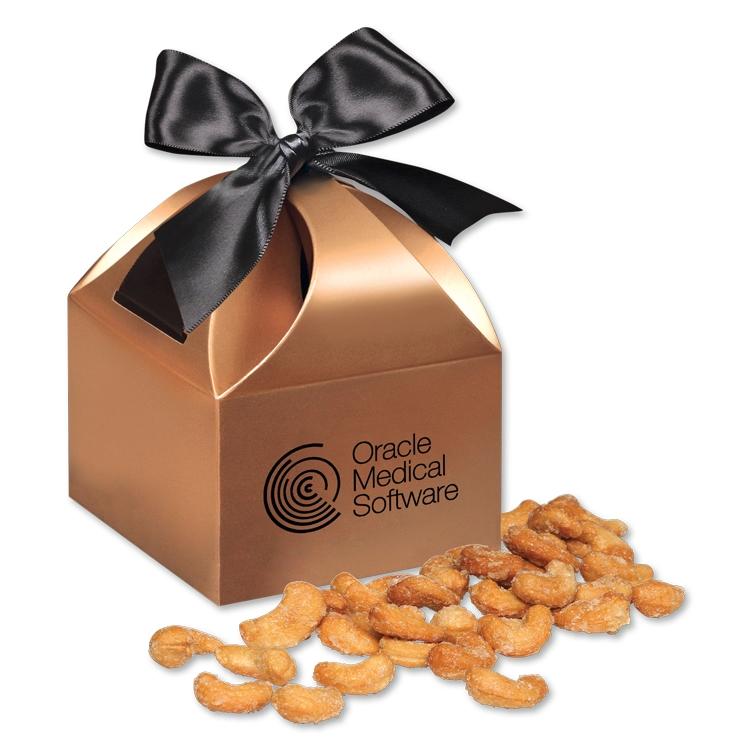 Honey Roasted Cashewsin Copper Gift Box