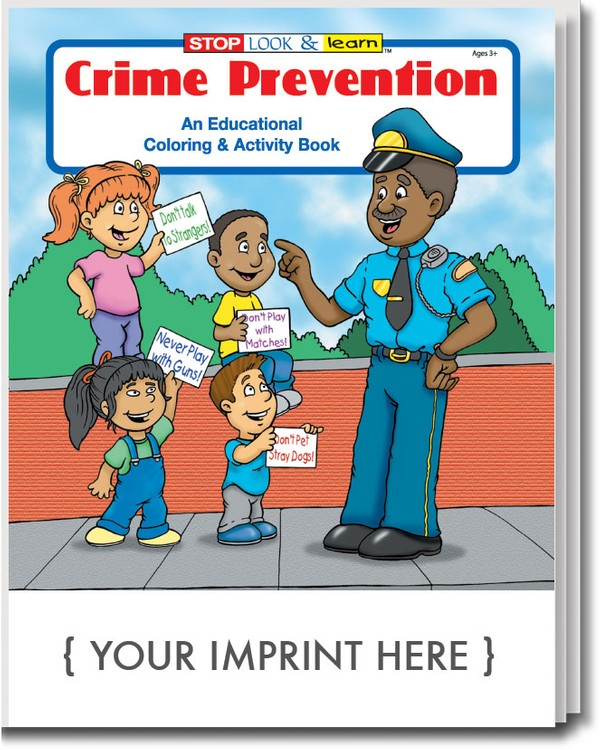COLORING BOOK - Crime Prevention Coloring & Activity Book
