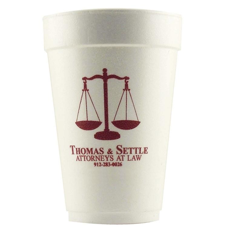 Foam Cups (Hot or Cold)-12 oz.