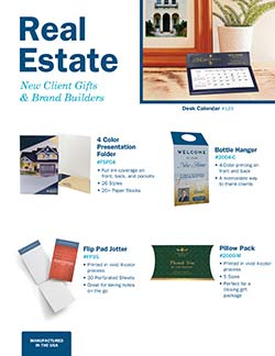 Real Estate Promotional Products from Warwick