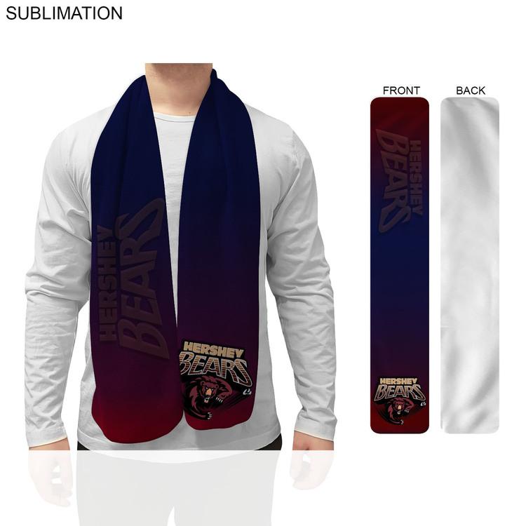 Fleece Scarf, 9x60, Sublimated or Blank