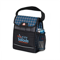 Igloo Polar Lunch Cooler - Plaid Blue