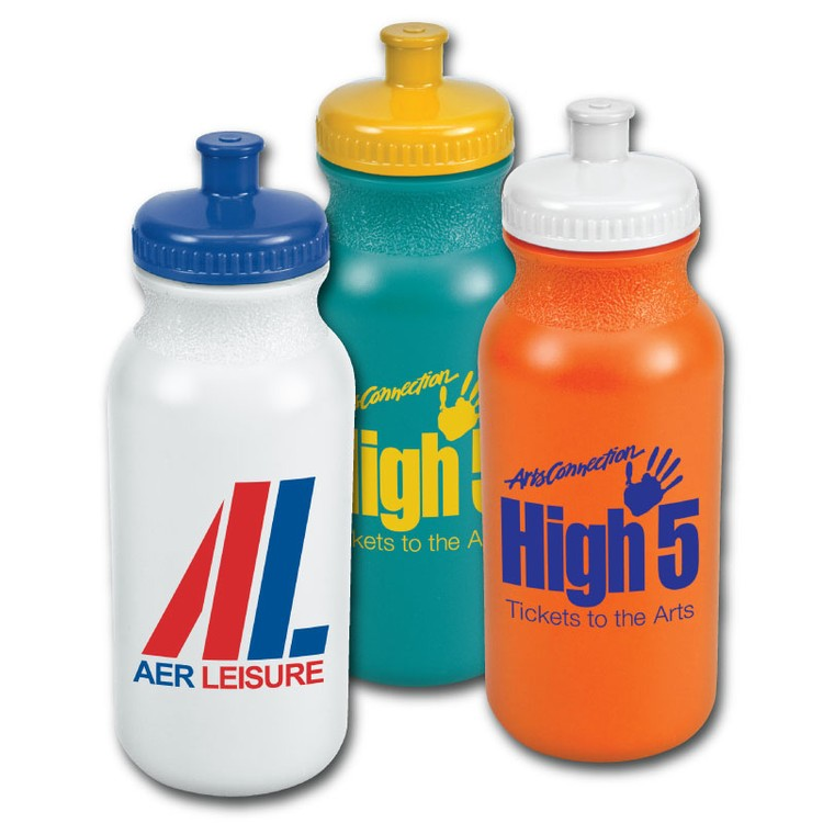 20 Oz Sport Water Bottle In Colors