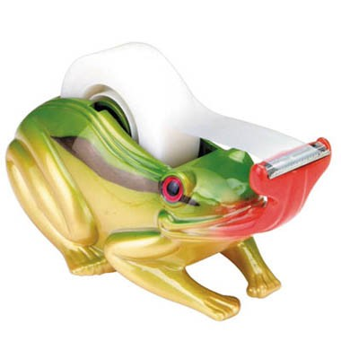 FROG TAPE DISPENSER / PAPERWEIGHT