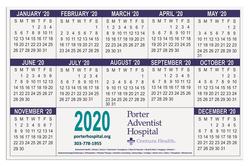 Counter Mat Calendar