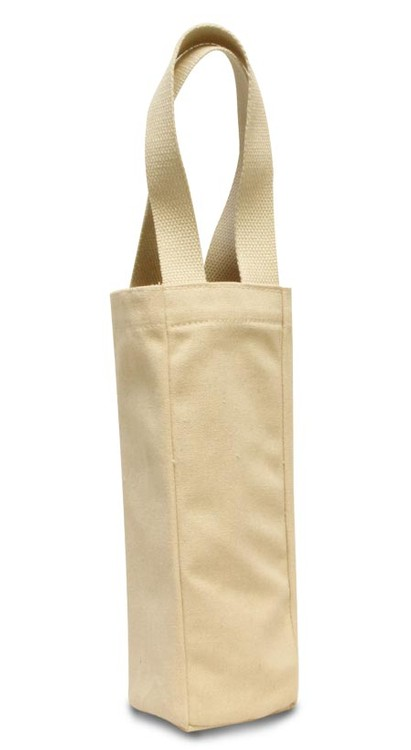 Tuscany Single Bottle Wine Tote - Eco Friendly