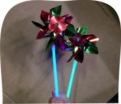 Pinwheel Glow Bracelets