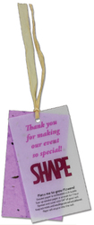 "Vellum 2""x 3 1/2"" Seeded Paper Hangtag"