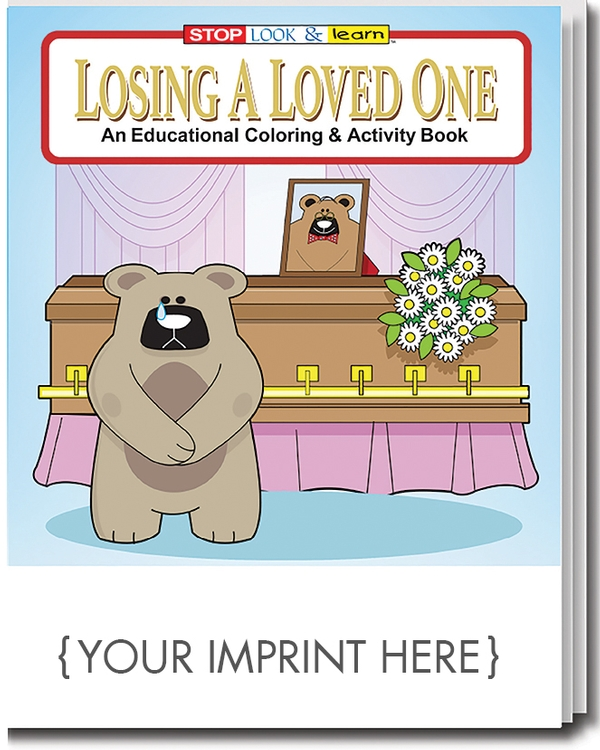 COLORING BOOK - Losing A Loved One Coloring & Activity Book