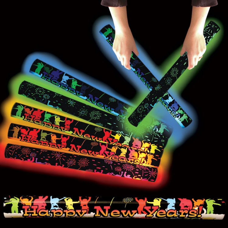 Happy New Year Light Up LED Glow Lumiton