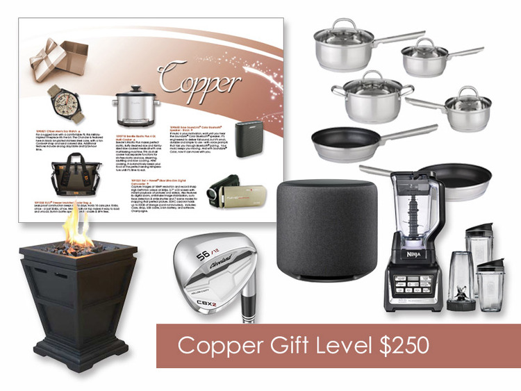 $250 Gift of Choice (Copper Level) Gift Card