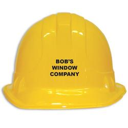 Novelty Construction Hat - Yellow