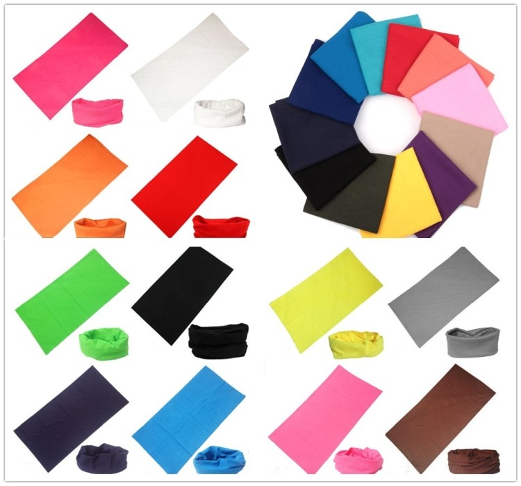 Magic Sport Seamless Bandannas Assorted Solid Colors