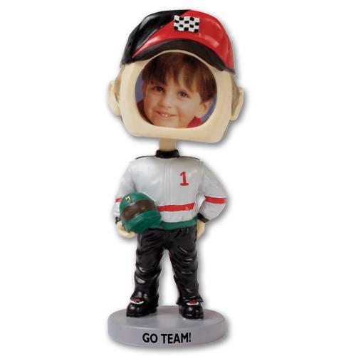 Race Car Driver Bobblehead
