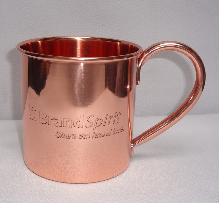 Solid Copper 16 oz. Moscow Mule Mugs
