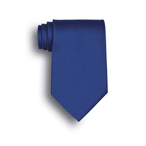 Royal Blue Silk Neck Tie