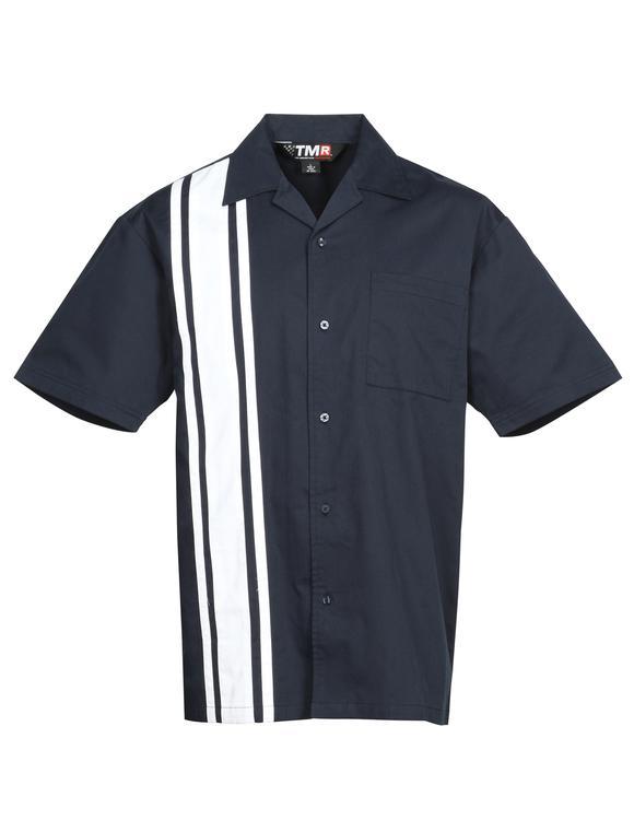 TMR 60/40 short sleeve twill camp shirt.